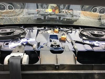 2007 Toyota Yaris Sedan Rear Deck Speaker Installation - USA