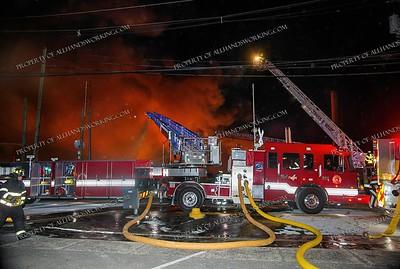 10+ Alarm Marcal Paper Mill Fire - 35 Market St, Elmwood Park, NJ - 1/30/19