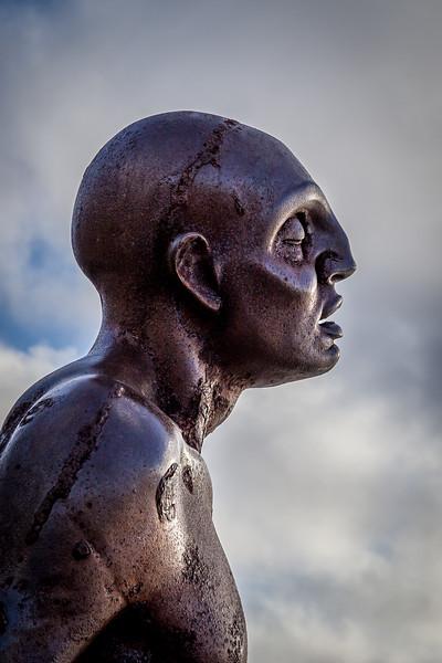 Statue am «Wellington Waterfront Park»