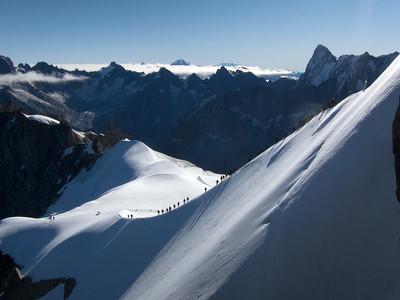 Mont Blanc, 2011