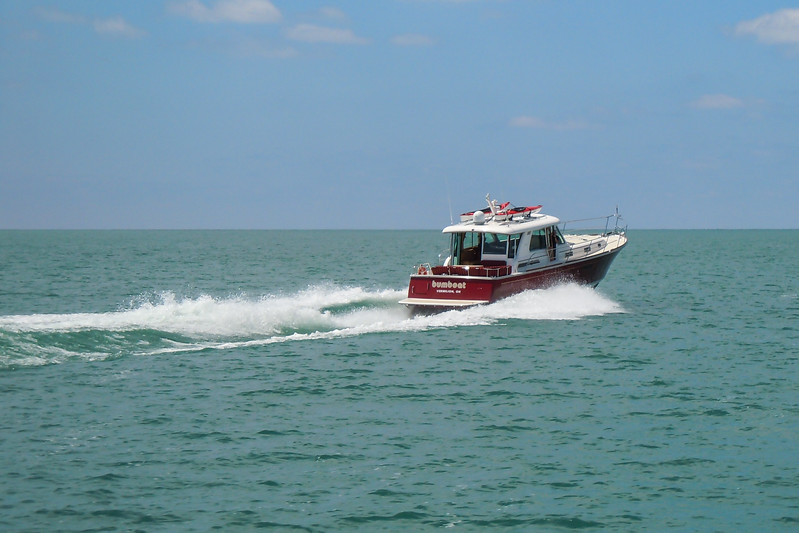 Bumboat off Erie PA