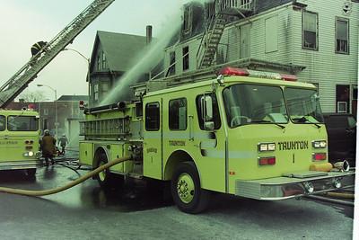 Building Fire Taunton Ma. Hazelton Hotel Winthrop Street