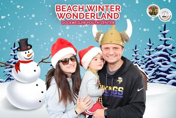 2019 Beach Winter Wonderland Photo Booth