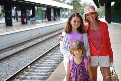 Train to Lisbon Emmanuelle with Maya & Sara Summer 2012