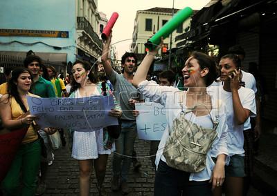 Rio de Janeiro Confed Cup Protests