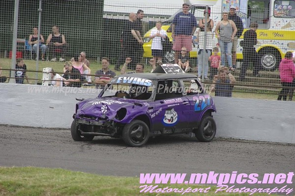 Junior Bangers, Northampton, 5 July 2015