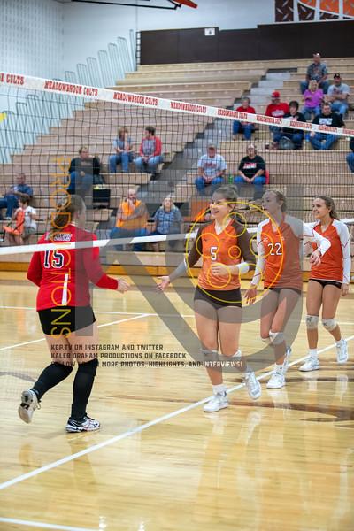 MHS Volleyball Senior Night vs. Coshocton