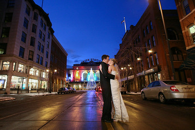 Wedding album: Alexis and Whit at the Oxford Hotel in Denver