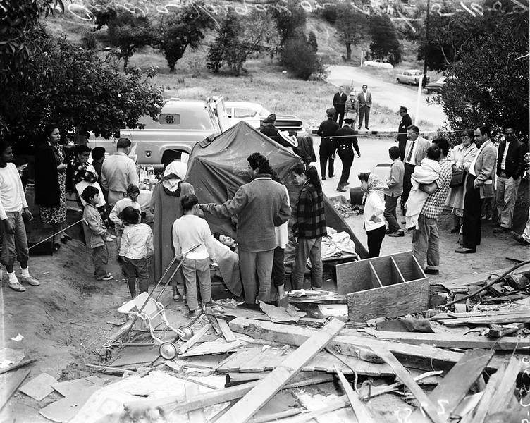 1959, Eviction & Demolition