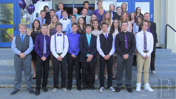 Blue Hill Consolidated School 8th Grade Graduation 2016