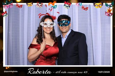Roberta 40 Anos