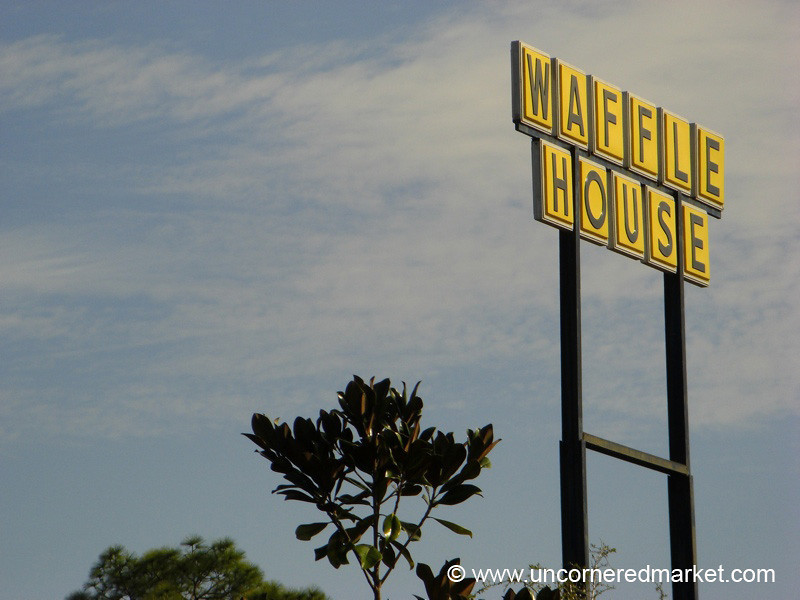 Waffle House Sign - Jacksonville, Florida