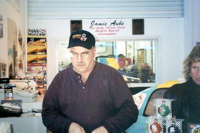 Visit to Verres Racing November of 2000