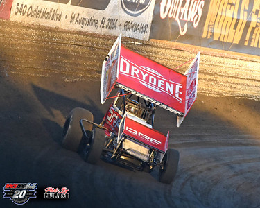 Volusia Speedway Park - World of Outlaws - 2/9/20 - Paul Arch