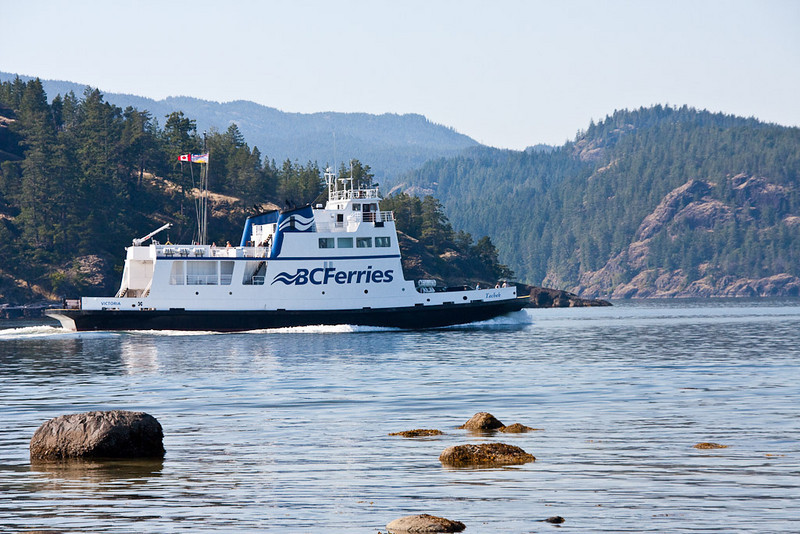 Ferry Crossing near Herriot Island