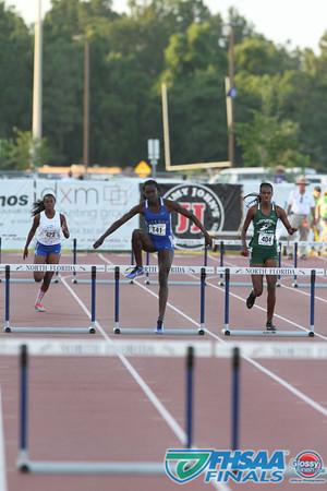 Class 3A - Running Event Finals - Girls 300m Low Hurdles