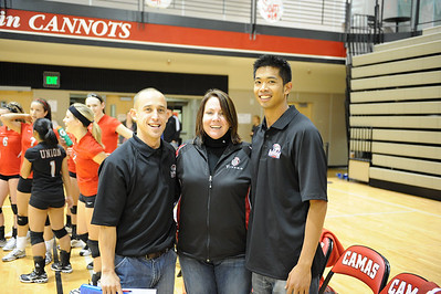 <center><br>Lady Titan Volleyball<br>Union at Camas<br>Oct 29, 2009</center>