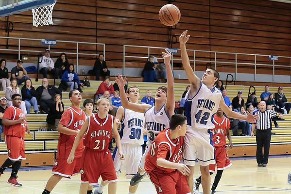 DHS 9th Basketball 01-13-2014