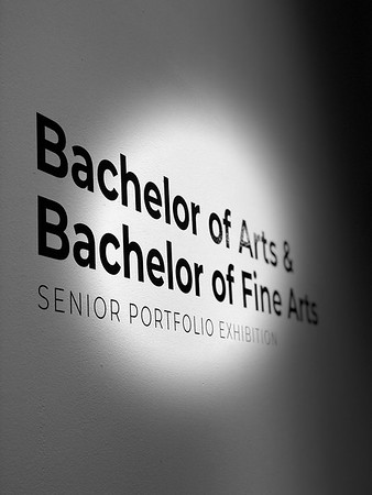 BA/BFA Senior Showcase Fall 2018