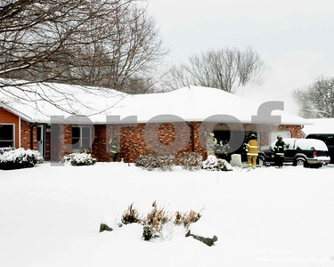 5014 Hickory Way in Johnsburg IL structure fire
