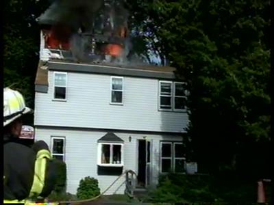 3/23/2009 4 Barnes Rd Fire Videos