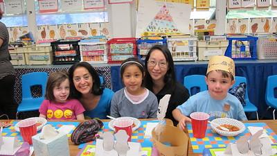 PCR First Graders Enjoy a Feast