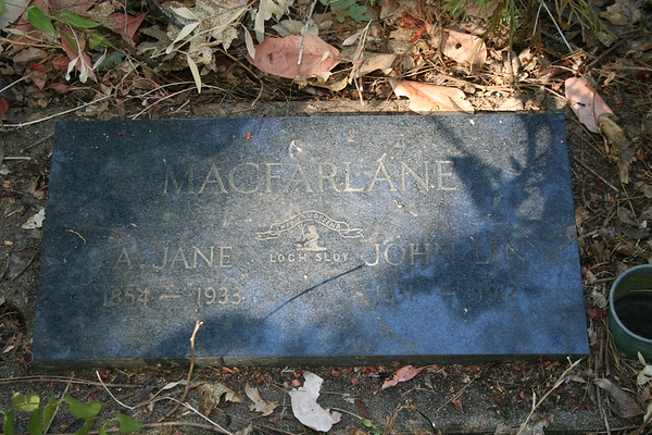 Day 8: Granite Hill Cemetery - 26 September 2008
