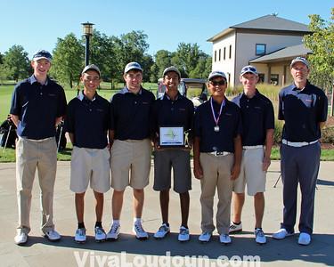 Golf: Conference 14 2013 Championship