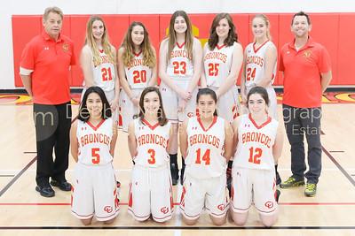 2017--18 Girls Basketball Team