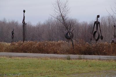 Griffis Sculpture Park 11.21.09