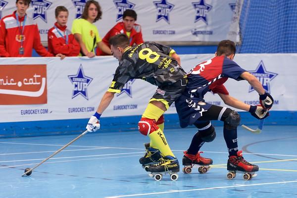 Quarter finals: Igualada HC vs CH Caldes