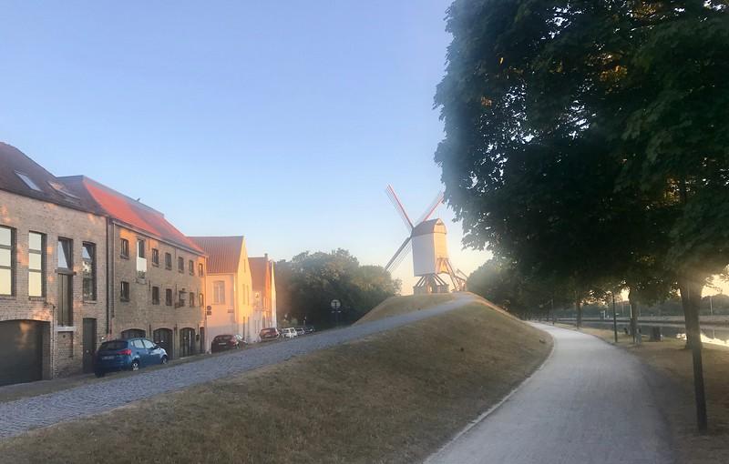 Windmill on my morning run