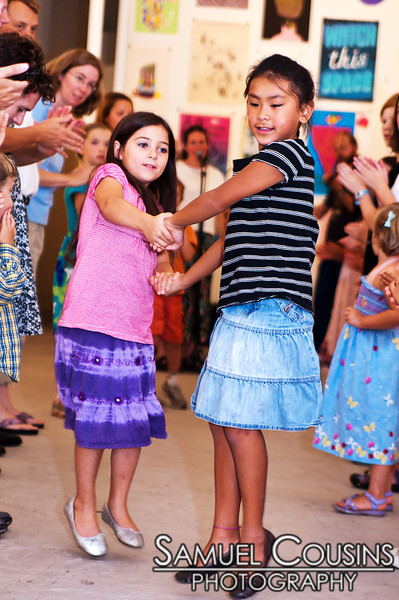 Family Contra Dance with The City Chickens!