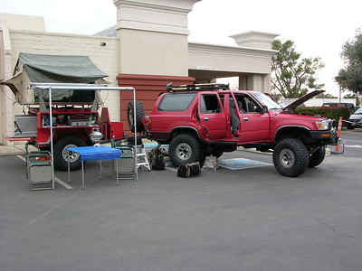 2008 CA4WDC Convention Vehicle Show
