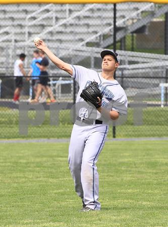 Magruder @ Clarksburg Var Baseball 2014