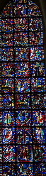 Chartres Cathedral, The Apostles Window