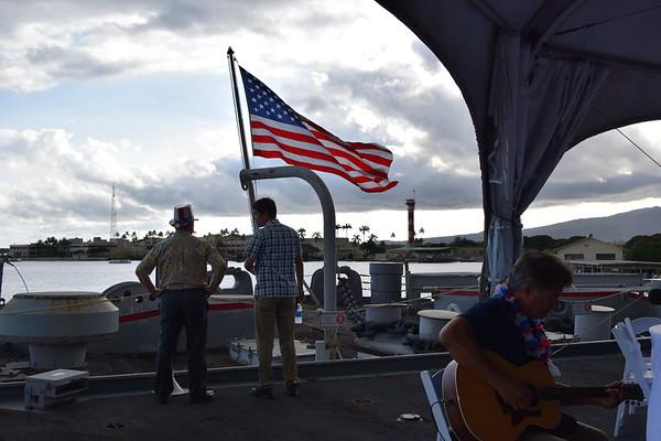 USS Missouri BB-63 Picnic on the Pier 7-4-2019