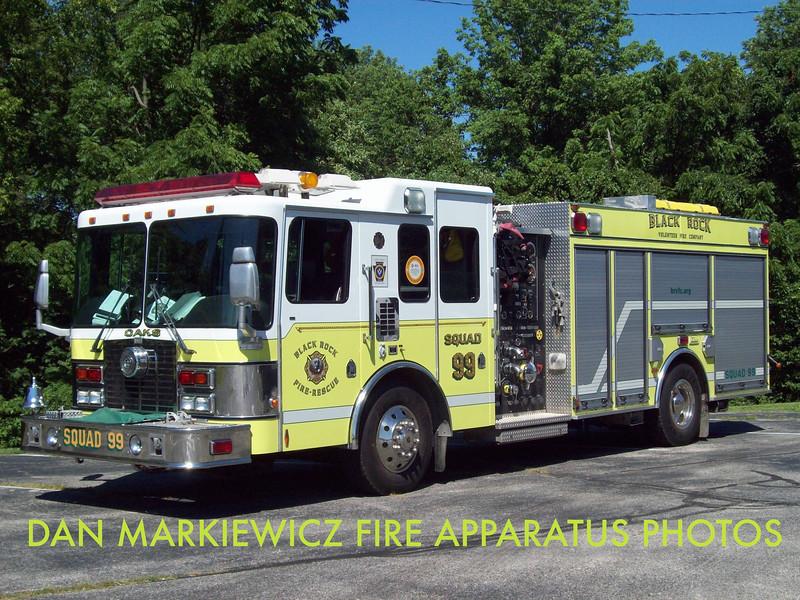 BLACK ROCK FIRE & RESCUE OAKS STATION SQUAD 99 2000 HME/NEW LEXINGTON PUMPER/RESCUE