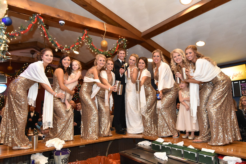 Jill and Michael Wedding Reception
