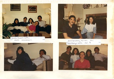 4-8 & 16-1989 Kam's Anniversary Dinner & Cook-out