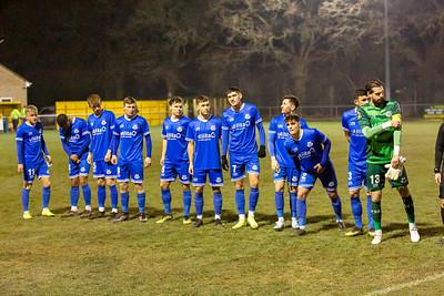 Baashley v Eastleigh Quarter Final Hants FA Senior Cup