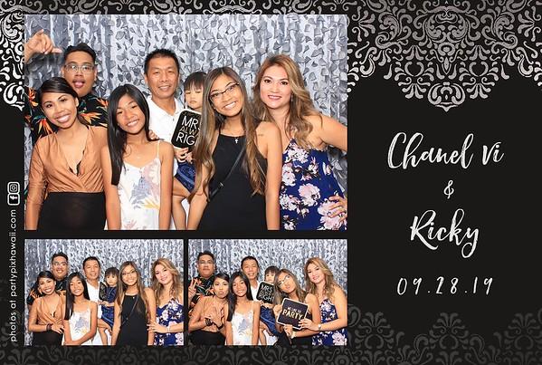 Chanel & Ricky's Wedding (LED Dazzle Photo Booth)