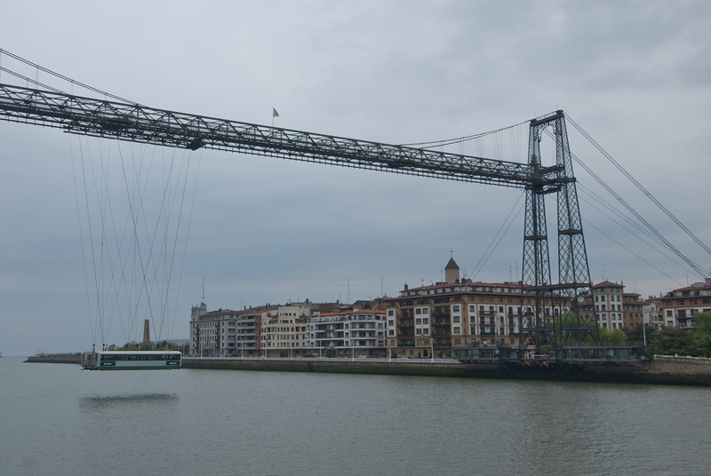 Vizcaya Bridge in Bilbao, Basque Country, Spain