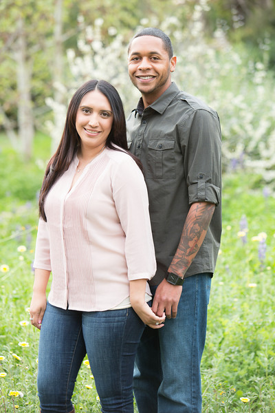Amber & Jesse Pasadena Engagement