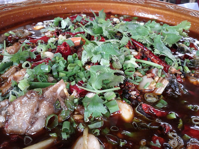 Sichuan Food in Dujiangyan