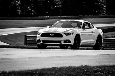 2021 SCCA TNiA June 24 Pitt Nov White Mustang Silver stripes
