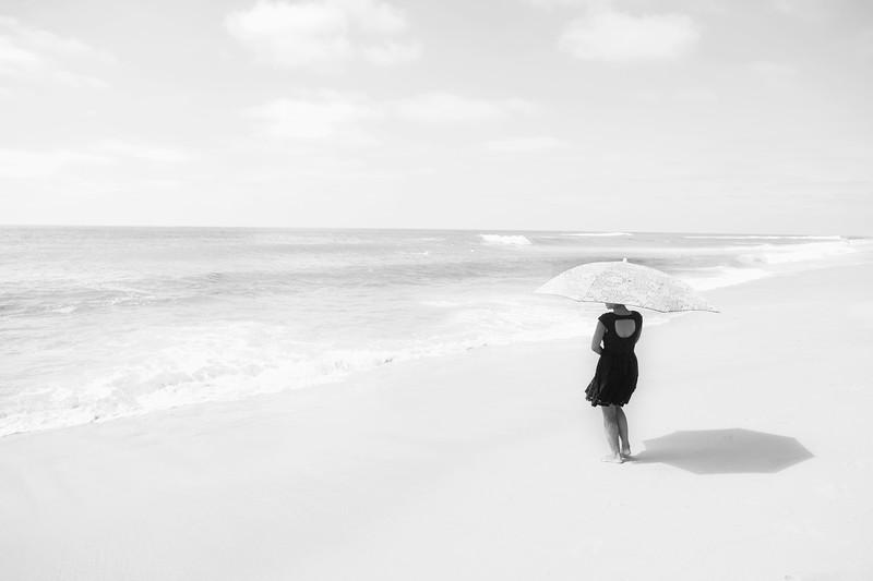 An Umbrella on the beach