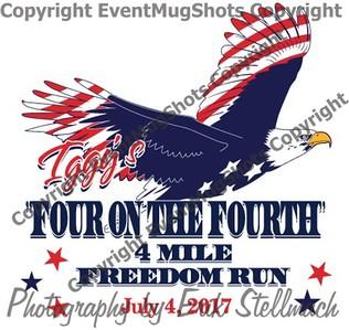 2017.07.04 Freedom Run 4 Miler