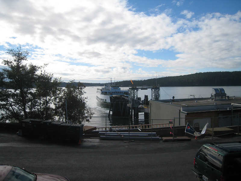 The Ferry Landing on Orcas Island