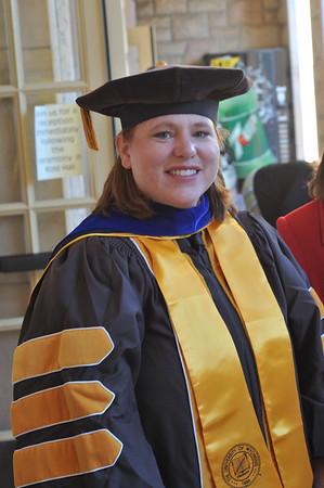 Dr. Ballard's Graduation - Fall 2008